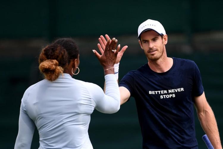 Andy Murray, Serena Williams
