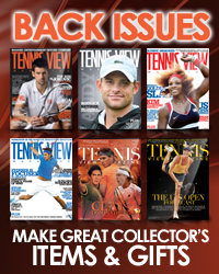 Tennis View Magazine Back Issues