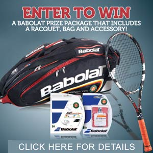 Tennis Free Giveaway Promotion Contest
