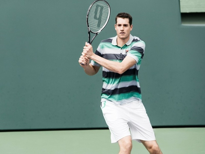 bd2cd5e7bd38 The FILA Men's Legends Collection will be worn in New York by FILA's male  sponsored tennis athletes such as Marin Cilic, John Isner, Sam Querrey, ...