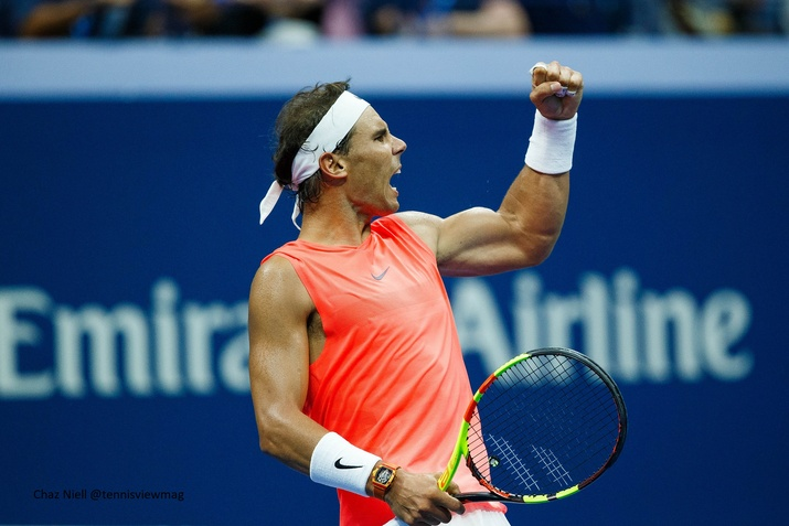 Us Open Nadal Survives Challenge From Khachanov