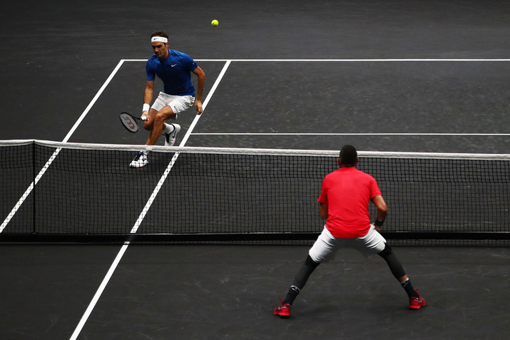 Federer and Kyrgios