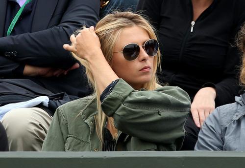 Maria Sharapova Boyfriend Kiss ATP Breakthrough of th...
