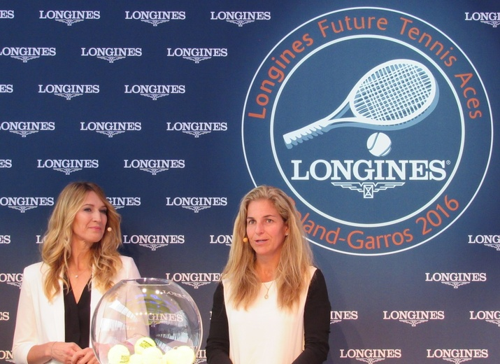 Steffi Graf and Arantxa Sanchez-Vicario