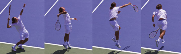Discover one of the Alexandr Dolgopolov's deceptive weapons, his serve.