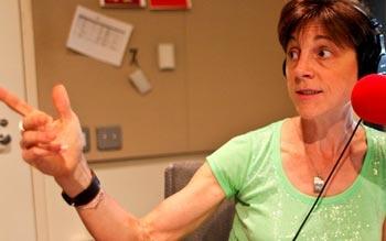 WNYC radio host Amy Eddings