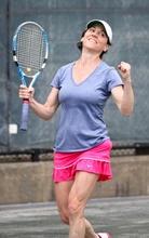 Amy Eddings hates tennis.