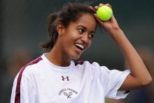 Malia Obama & Tennis