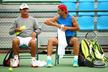 Toni and Rafael Nadal