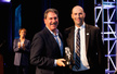USTA President Dave Haggerty and Adaptive Tennis Community of the Year Aceing Autism Co-Founder Richard Spurling