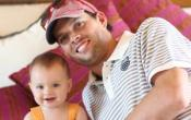 Double Duty - Bob Bryan on Tour with Baby in Tow
