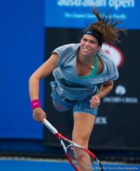Ajla Tomljanovic Australian Open 2014