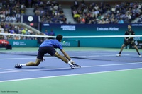 US Open: Novak Djokovic