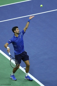 US Open: Novak Djokovic