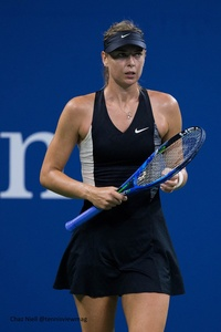 US Open: Maria Sharapova