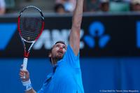 Ernests Gulbis Australian Open 2014