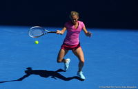 Klara Zakopalova Australian Open 2014
