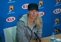 Maria Sharapova Australian Open 2014