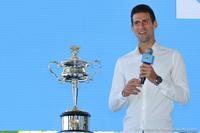 Novak Djokovic Australian Open 2014 Draw Ceremony