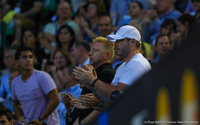 Boris Becker Australian Open 2014