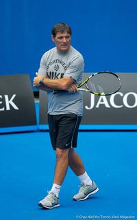 Toni Nadal Australian Open 2014