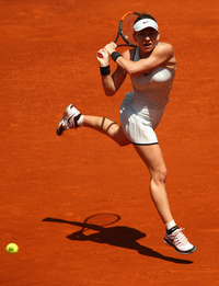 Simona Halep Advances In Madrid