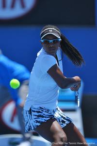 Vicky Duval 2014 Australian Open