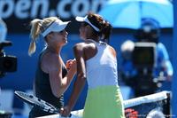 Jana Fett and Elizaveta Kulichkova Australian Open 2014