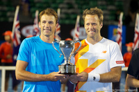 Robert Lindstedt and Lukasz Kubot Australian Open 2014