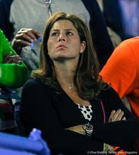 Mirka Federer Australian Open 2014