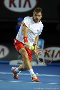 Stanislas Wawrinka Australian Open 2014