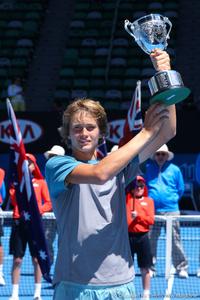 Alexander Zverev Australian Open 2014