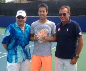 Sebastien Fanselow, with Jeff Richards and Steve McAvoy