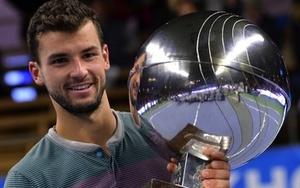 Grigor Dimitrov wins maiden title