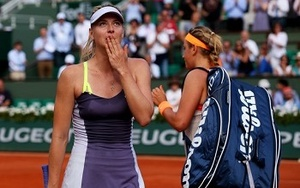 Maria Sharapova and Victoria Azarenka