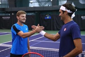 Federer - Goffin