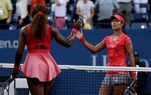 Serena Williams and Li Na