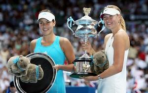 Maria Sharapova and Ana Ivanovic