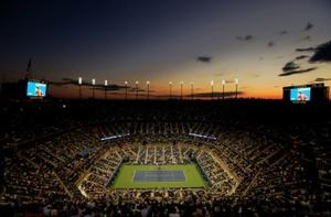Arthur Ashe Stadium at the US Open.