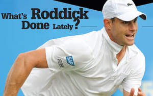 First Serve: Andy Roddick