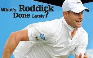 First Serve: Andy Roddick