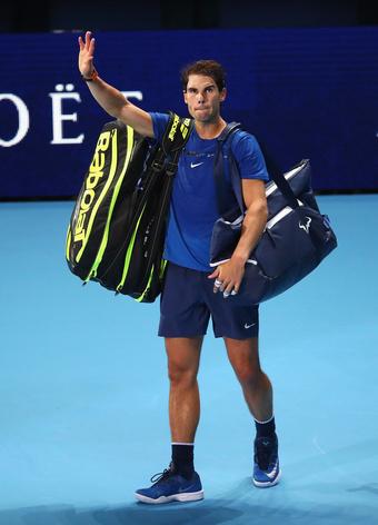 Rafael Nadal Ends 2017 Season Due To Knee Injury
