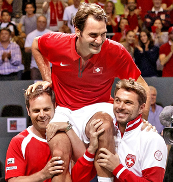 Big Win for Swiss Davis Cup Team