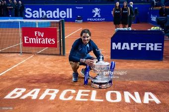 Rafael Nadal Wins Barcelona