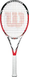 The Wilson Steam 99S racquet is the first racquet